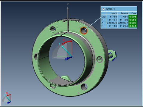 PolyWorks® Webinar - Leverage the use of multiple coordinate systems in inspection projects