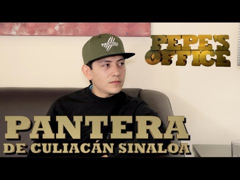 PANTERA DE CULIACAN SINALOA EN EXCLUSIVA EN PEPE'S OFFICE - Thumbnail
