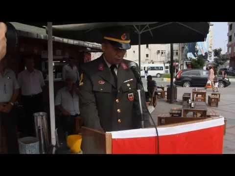 Pazar'da Zafer Bayramı törenle kutlandı