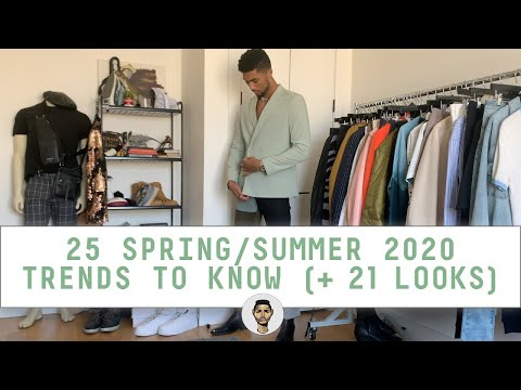 25 Trends to Know for SS20 ( 21 ASOS ZARA Outfits!)   Men's Style & Fashion   Jovel Roystan видео
