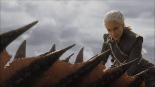 Skip to dragon scenes 01:09 - Daenerys the Dragon Queen rides into battle against the main Lannister army. All rights belong to ...