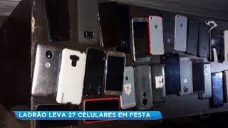 Ladrão furta 27 celulares durante festa universitária em Bauru