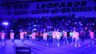 Lovejoy Cheer Blacklight Pep Rally 2016
