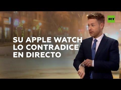 Un Apple Watch contradice al hombre del tiempo