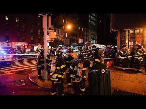 Ν. Υόρκη: Ισχυρή έκρηξη με 29 τραυματίες