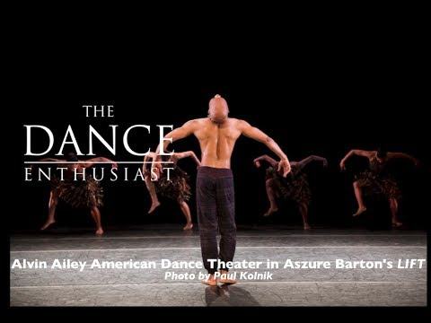 "Matthew Rushing and Hope Boykin of the Alvin Ailey American Dance Theatre on Rehearsing ""LIFT"" by Aszure Barton"