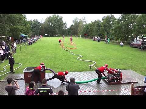 Hasičská soutěž Mydlovary