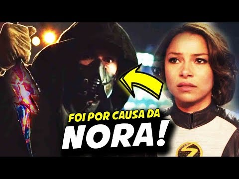 PORQUE CICADA POUPOU O FLASH? || THE FLASH 5X02