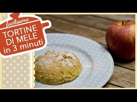 torta di mele in 5 minuti - ricetta