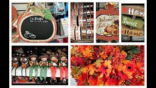 Shop with me DOLLAR TREE  Fall Decor 2017