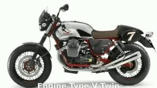 8. 2014 Moto Guzzi V7 Stone - Walkaround and Features