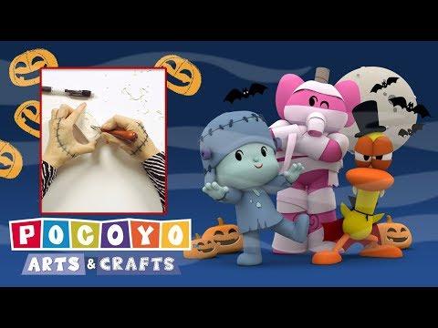 Pocoyo Arts & Crafts: Halloween invitation