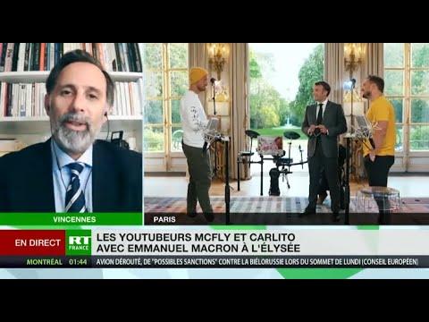 Vidéo de Macron avec McFly et Carlito : «Une opération de propagande politique»