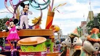 "♥♥ Walt Disney World's ""Celebrate A Dream Come True"" Parade (in HD)"