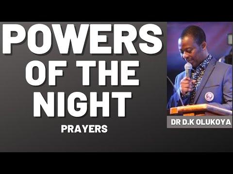 dr dk olukoya - Dealing With Powers Of The Night - Olukoya Midnight Prayers