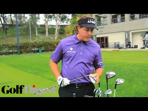 Phil Mickelson: What's In My Golf Bag
