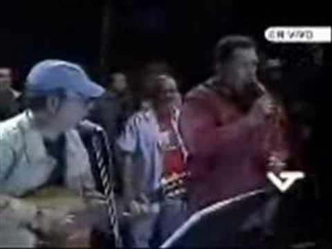Por aquí pasó (Hugo Chávez y Silvio Rodríguez)