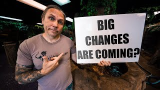 HUGE CHANGES COMING!! MY REPTILE ZOO UPDATE!! | BRIAN BARCZYK by Brian Barczyk