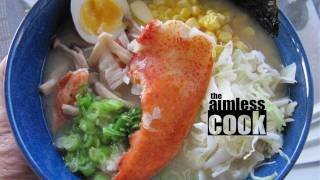 Lobster Miso Ramen: The Aimless Cook