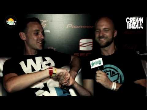 Interviewing Nick the Kid (Hindsight) at Cream, Amnesia, Ibiza 2012