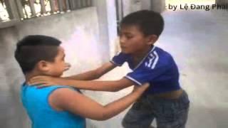 Trẻ trâu đánh nhau rất hay. Như phim trưởng, k tin vào xem thử, trẻ trâu đánh nhau, haivl