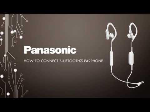 How to connect Panasonic Bluetooth® Earphones