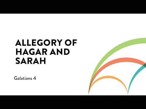 Allegory of Hagar and Sarah    The Galatians Effect