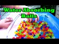 Magical (Scientific) Jiggly Balls Expanding in Water! - Orbeez!