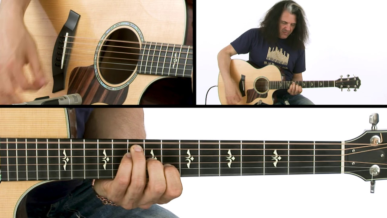 Unbound Guitar: Acoustic Studies – Intro Section Breakdown – Conundrum Excerpts – Alex Skolnick