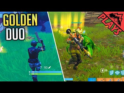 GoldenDuo - Fortnite Gameplay #18 (Fortnite Battle Royale Gameplay PC Duo in Squad)