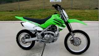 8. 2008 Kawasaki KLX140 Fun Easy to Ride Dirt Bike