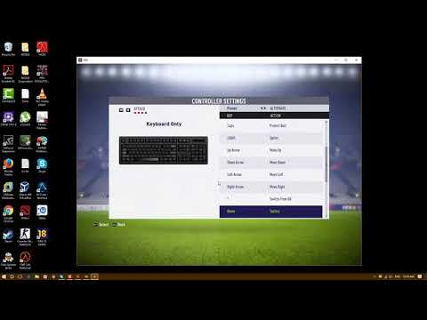 Customize FIFA 18 Controller For PC Keyboard
