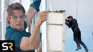 10 Most Insane Movie Stunts Tom Cruise Has Done by Screen Rant