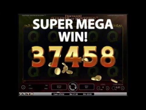 Fantasini Master of Mystery Slot - Super Mega Win - NetEnt