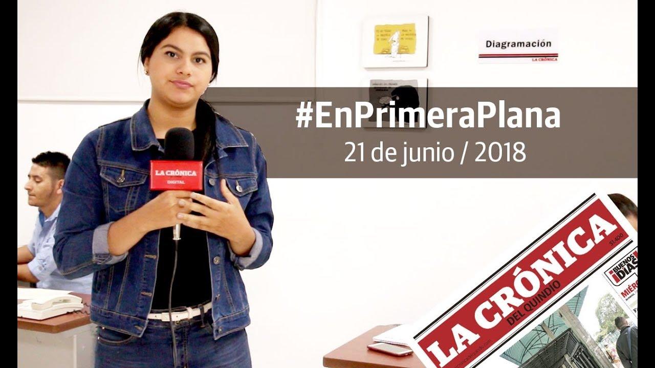 En Primera Plana - 21 de junio de 2018