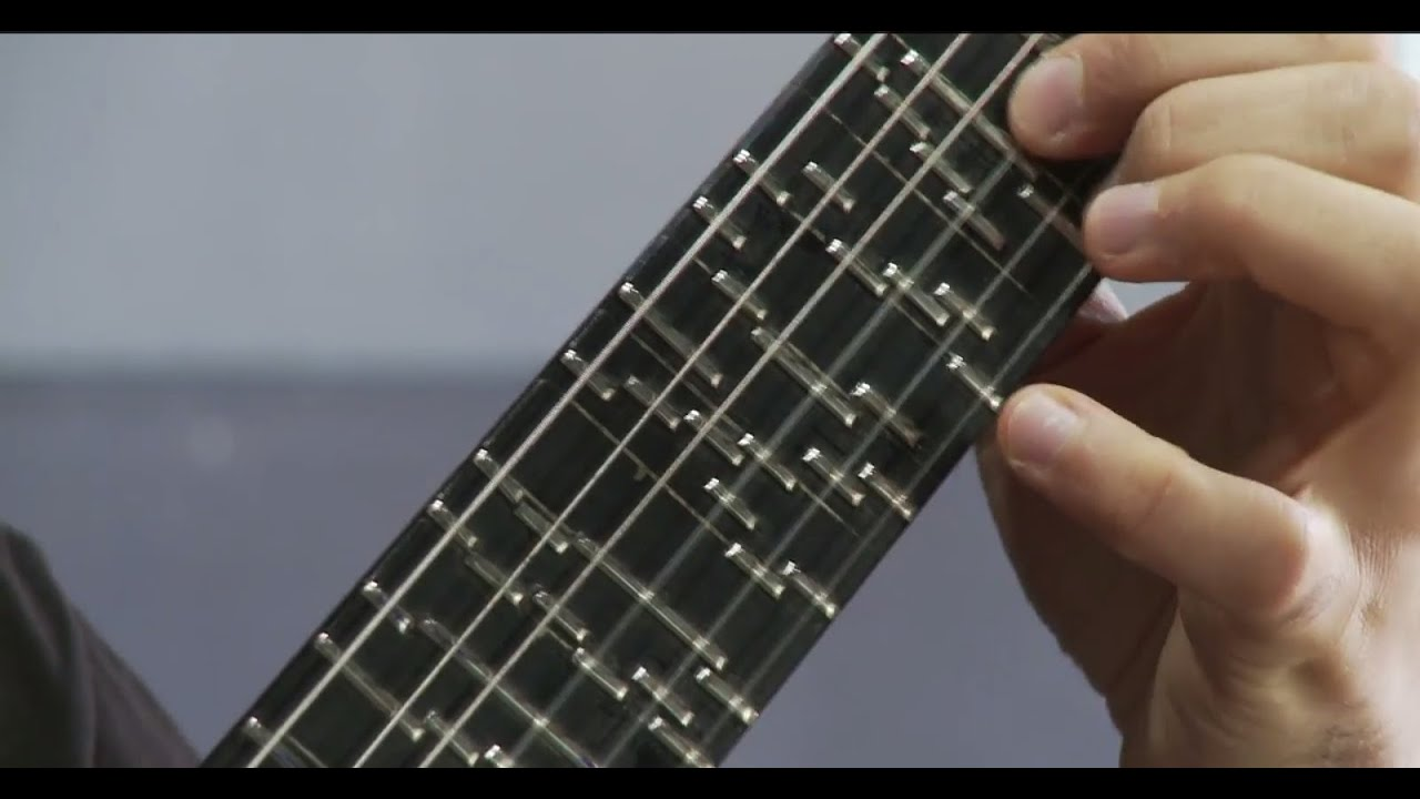 Microtonal Guitar (Fixed Fret) – Tolgahan Çoğulu