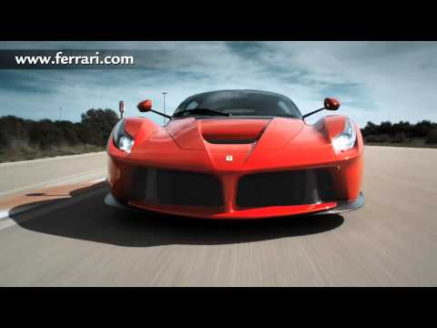 la ferrari - official launch video