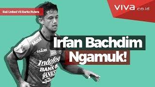 VIVA.co.id - Insiden tekel keras yang dilakukan oleh Douglas Ricardo kepada Irfan Bachdim membuat pertandingan Bali United...