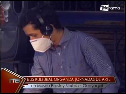 Bus Kultural organiza jornadas de arte en museo Preley Norton - Guayaquil