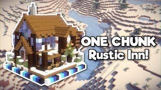Minecraft: Rustic Inn in ONE CHUNK! [Tutorial]