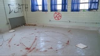 Nonton  Abandoned School   Satanic Ritual Part 2 Ghost Slams Door Shut Film Subtitle Indonesia Streaming Movie Download