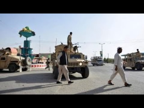 Taliban Offensive In Afghanistan's Ghazni Leaves Hundreds Killed