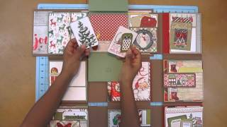Thanks for watching my Christmas version of The Life Report 2; a 6X6 Mini Album Project!It is inspired by:Kathy King from Paper Phenomenon's Tutorial:http://shop.paperphenomenon.com/The-Life-Report-2-tut00113.htmKathy's YouTube Video:https://www.youtube.com/watch?v=LfZyHRELdbIPapers used:Dear Santa by PhotoplayClaus & Co by Simple StoriesDeck the Halls (Ornament Paper) from American CraftsHardware can be found in Kathy's Trinket Shop
