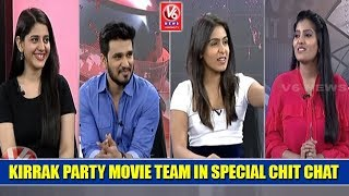 Video Kirrak Party Movie Team In Special Chit Chat | Nikhil | Simran Pareenja | Samyuktha Hegde | V6 News MP3, 3GP, MP4, WEBM, AVI, FLV Maret 2018