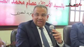 فعاليات زيارة رئيس مجلس إدارة الهيئة القومية للبريد المصري بروزاليوسف