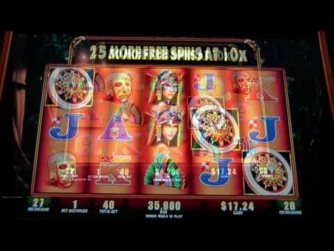 Handpay!  Montezuma Slot Machine!  Jackpot!  Mega Spins!