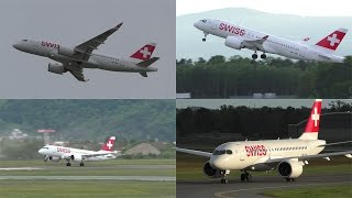 Swiss has a two days pilot training at Graz Airport with the Bombardier CSeries CS100. For almost 8 hours the CS100 HB-JBD performed takeoffs, landings, touc...