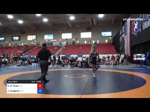 65 Kg 7th Place Keegan O`Toole Askren Wrestling Academy Vs Jojo Aragona NYAC NJRTC видео