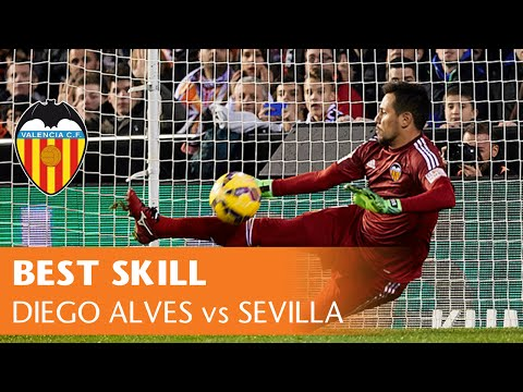 Sevilla - https://www.youtube.com/watch?v=Qn1ARmW8NYo Diego Alves penalty save to Bacca was the highlight piece of skill in Valencia CF's 3-1 La Liga victory against Sevilla FC, at Mestalla on January...