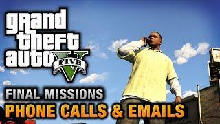 Video GTA 5 - Phone Calls & Emails after Final Missions MP3, 3GP, MP4, WEBM, AVI, FLV Oktober 2017